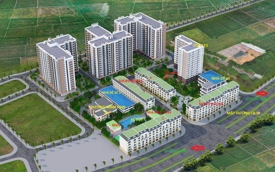 Quy hoạch tổng thể Dự án KĐT Lan Hưng Bắc Ninh