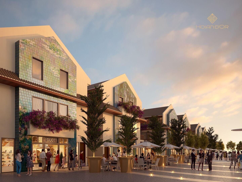 Shophouse Kinh doanh Dự án Hội An D'or Quảng Nam đảm bảo 5 năm hoàn vốn đầu tư siêu tốt