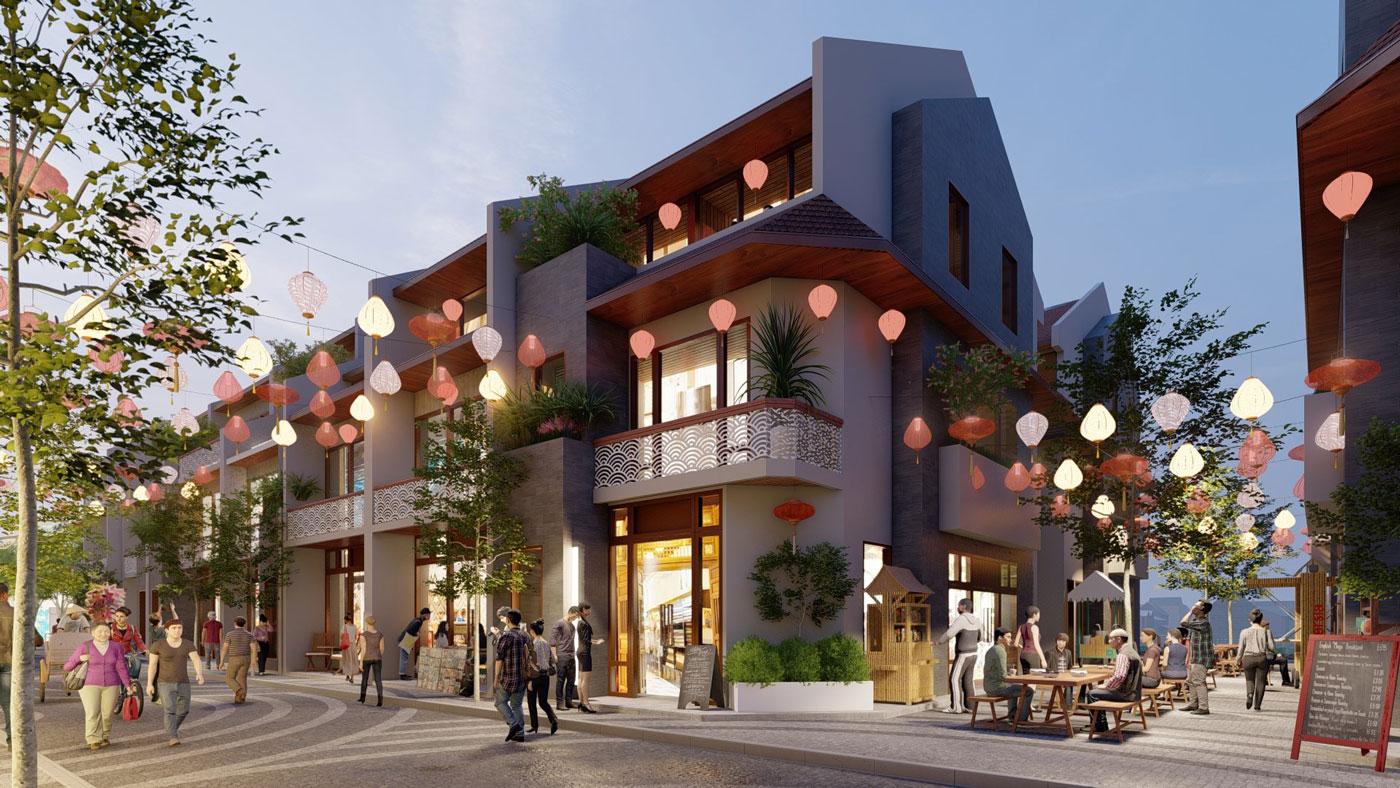Shophouse Kinh doanh Dự án Hội An D'or Quảng Nam tài sản 3 trong 1