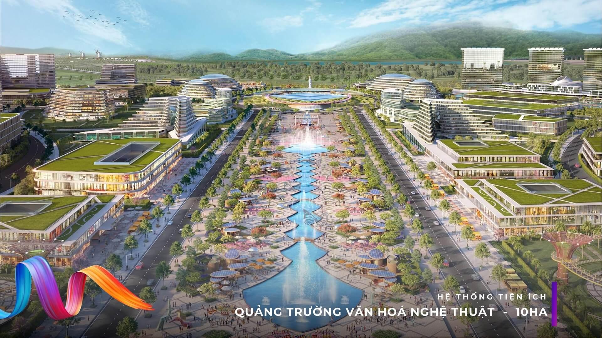 Quảng trường Văn hóa Nghệ Thuận KN Paradise Cam Ranh