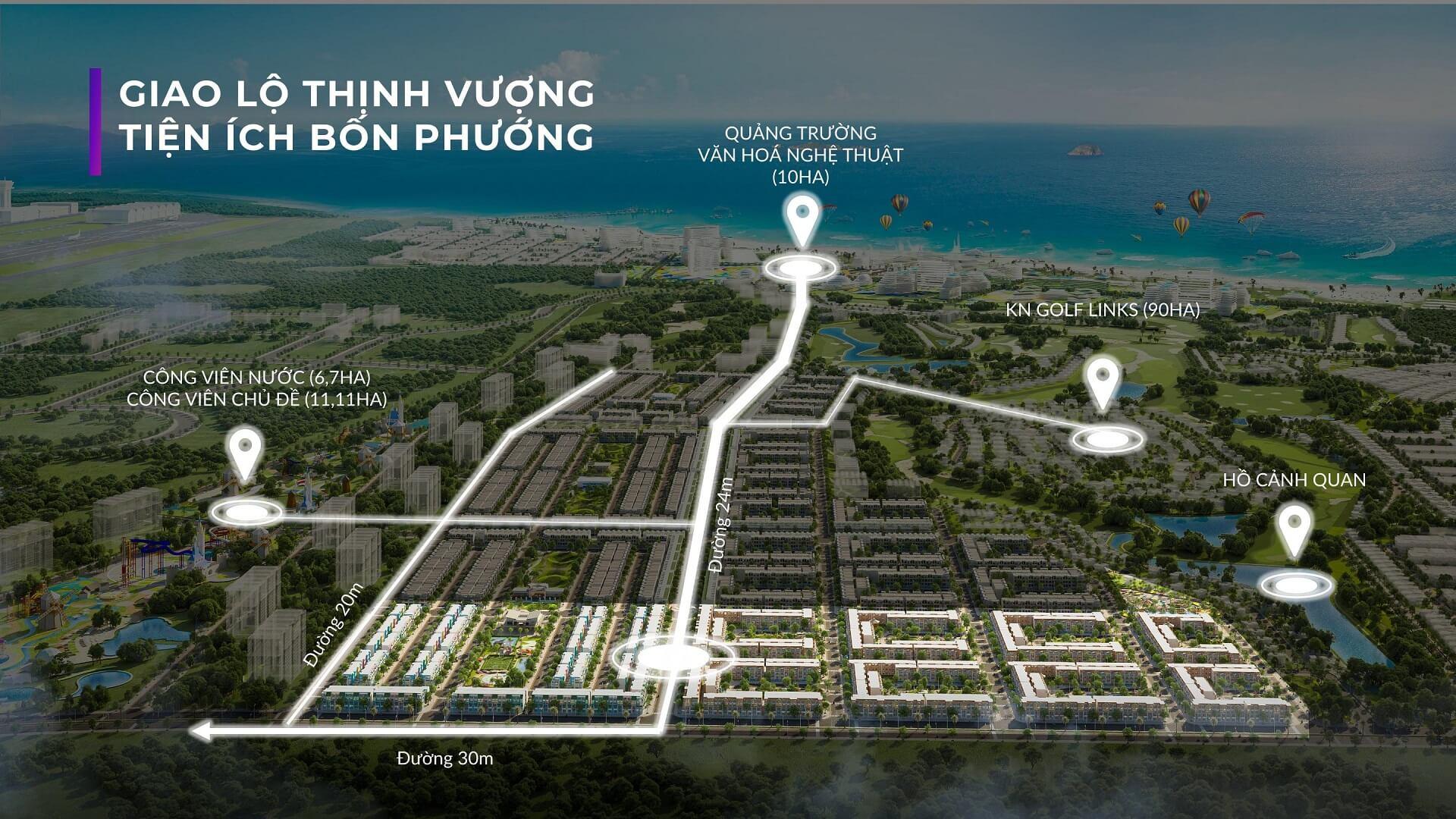 """Vị trí """"Chất Lượng Vàng"""" Phân khu Para Sol Cam Ranh Khánh Hòa"""