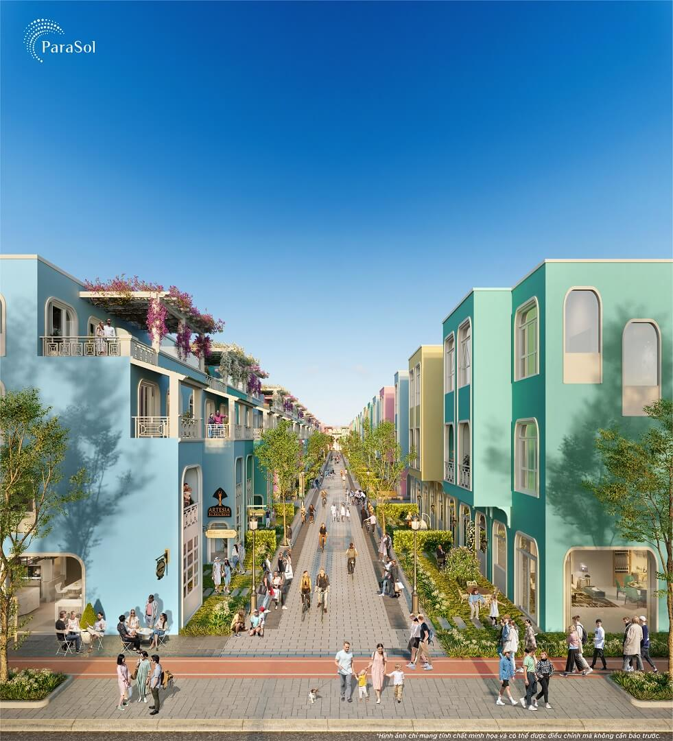 Nhà phố Kinh doanh Para Sol Cam Ranh Khánh Hòa