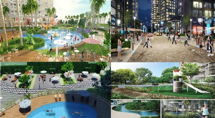 Tiện ích cao cấp Dự án Phương Đông Green Home Việt Hưng Long Biên