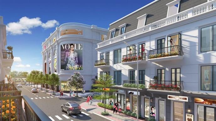 Shophouse Dự án Vinhomes Dream City Hưng Yên