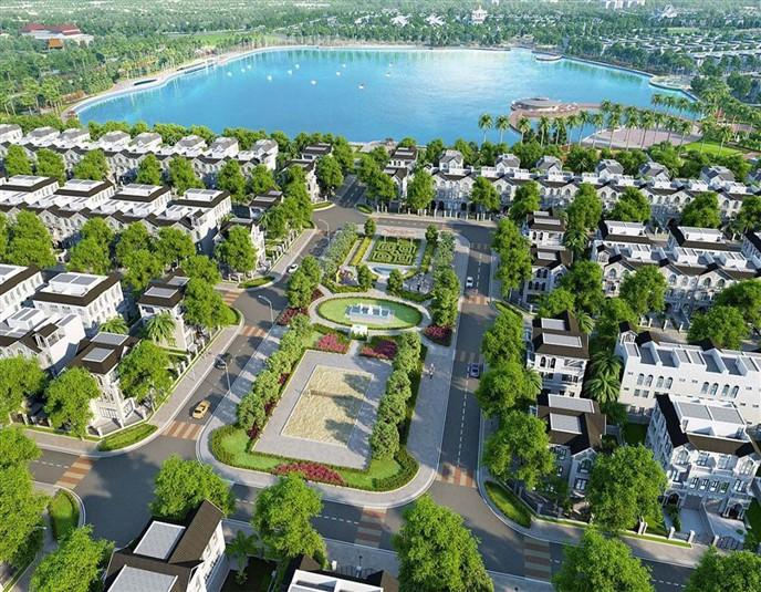 Hồ điều hòa Vinhomes Dream City Hưng Yên Văn Giang